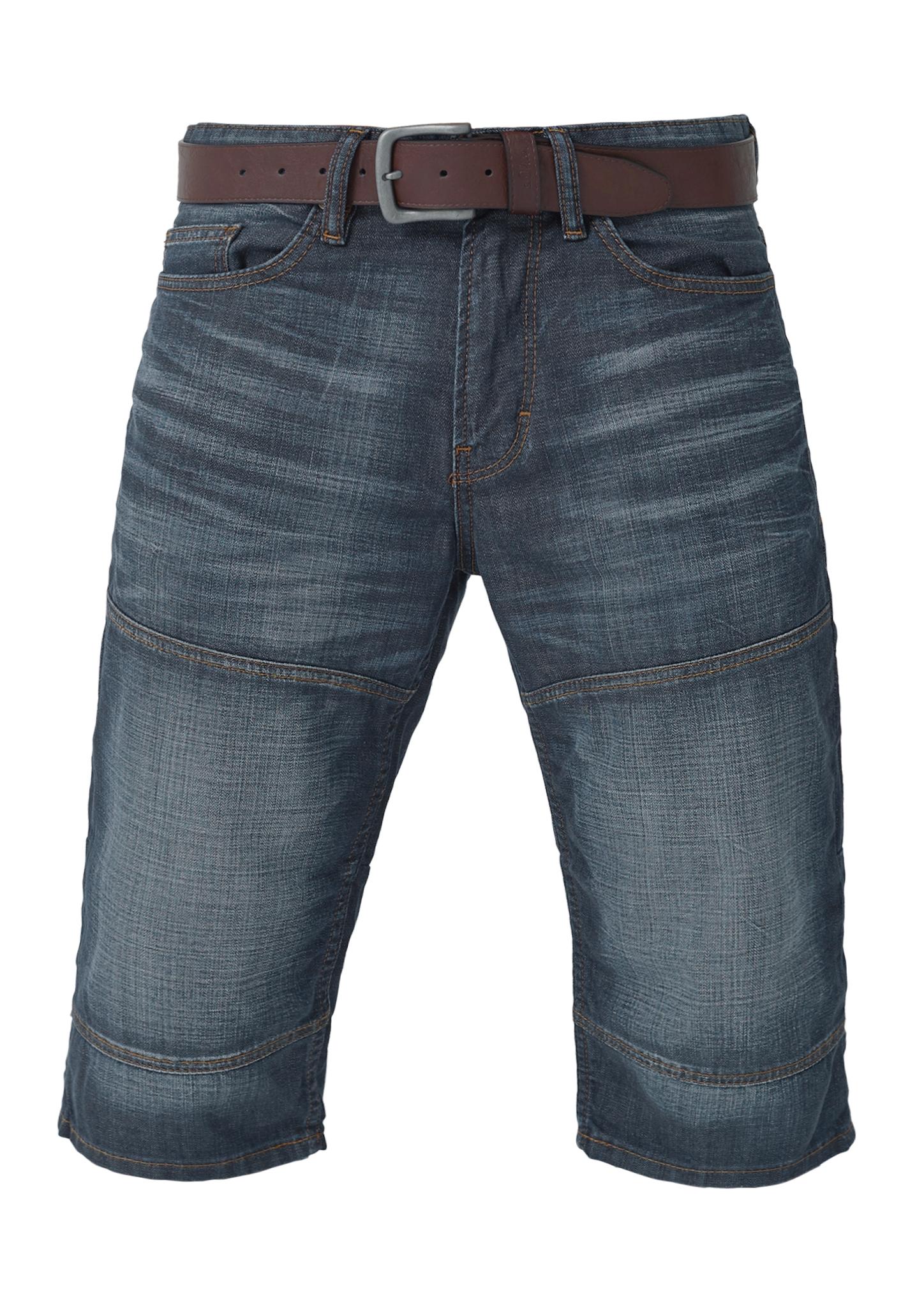 Jeansbermuda | Bekleidung > Shorts & Bermudas > Jeans Bermudas | Blau | Oberstoff: 100% baumwolle| futter: 65% polyester -  35% baumwolle | s.Oliver