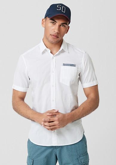 Regular: chemise à motif texturé de s.Oliver