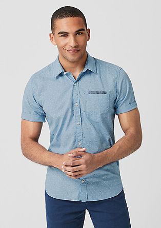 Regular: košile se strukturovaným vzorem