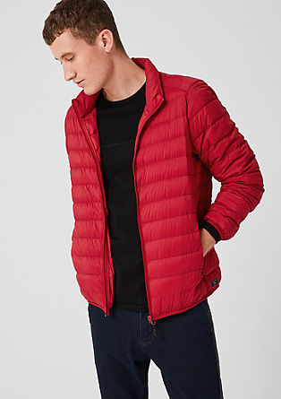 Quilted jacket with down from s.Oliver