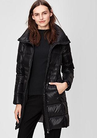 Warme donzen mantel