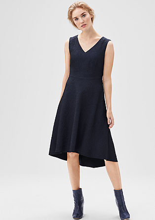 Modisches Jacquard-Dress