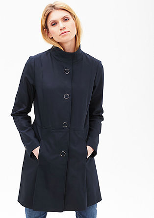 Stretch coat in a clean look from s.Oliver