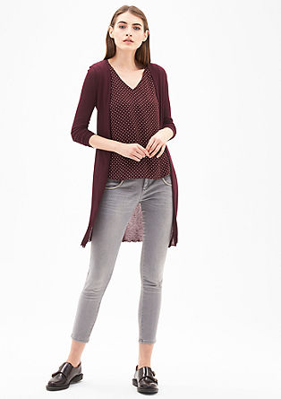 Lightweight, long cardigan from s.Oliver