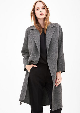Coat in a wool blend from s.Oliver