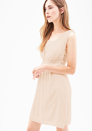 Short double-layered dress from s.Oliver