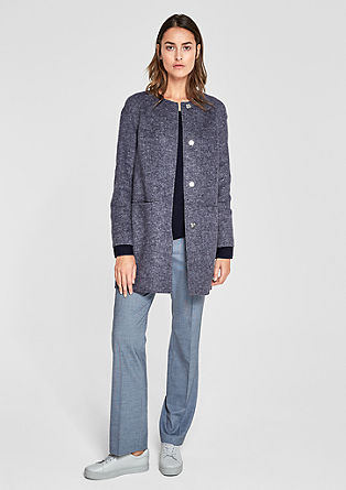 Short coat in blended wool from s.Oliver