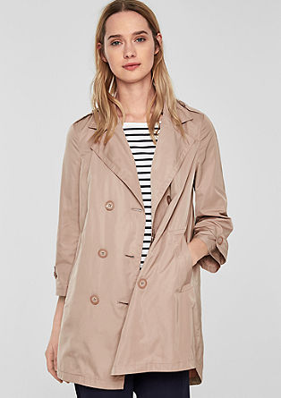 Manteau court au design trench-coat de s.Oliver