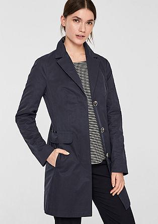 Taillierter Mantel im cleanen Look