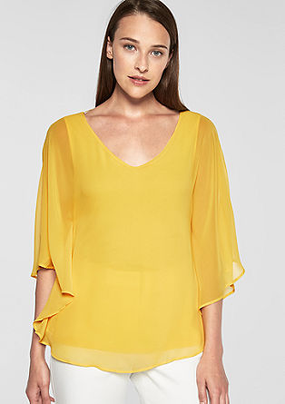V-neck batwing blouse from s.Oliver