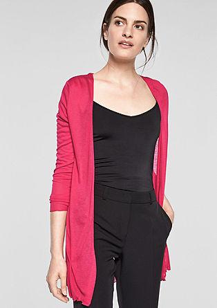Feine Jersey-Shirtjacke
