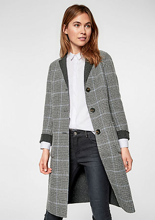Reversible wool coat from s.Oliver