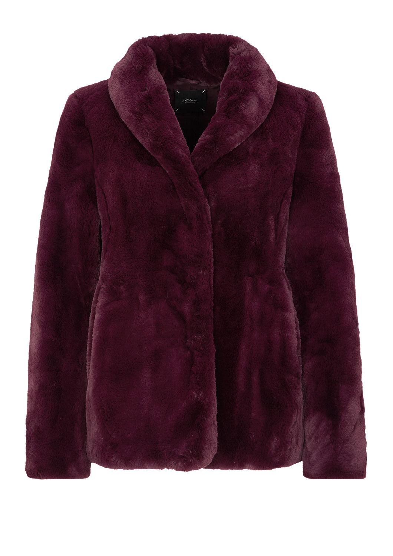 s.Oliver - Fake Fur-Jacke - 4