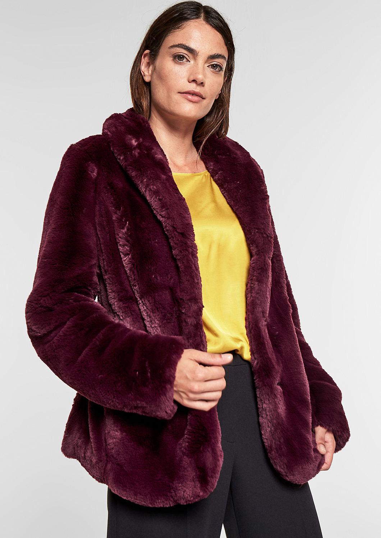 s.Oliver - Fake Fur-Jacke - 1