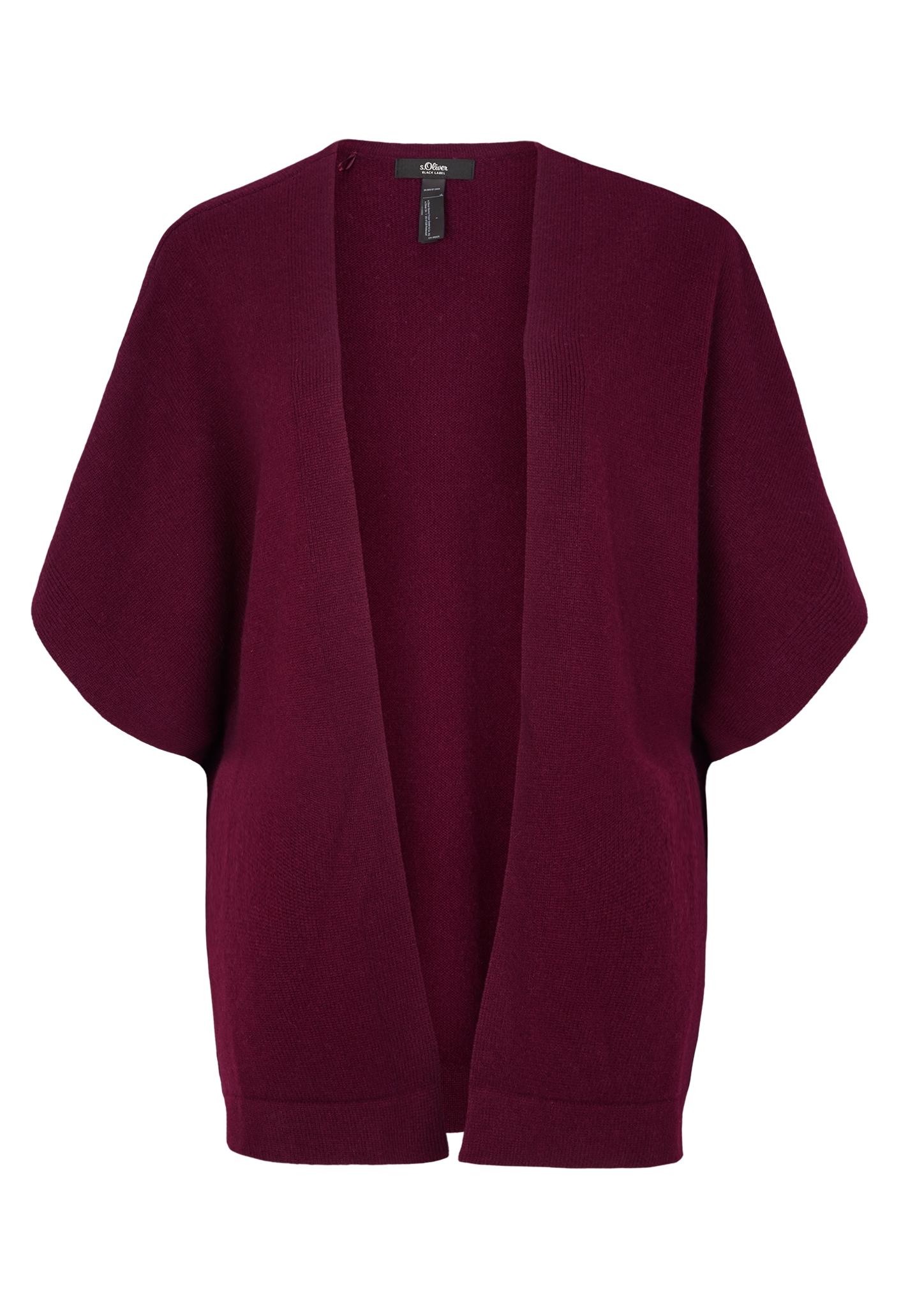Kaschmir-Poncho | Bekleidung > Pullover > Ponchos & Capes | Pink | 100% kaschmir | s.Oliver BLACK LABEL