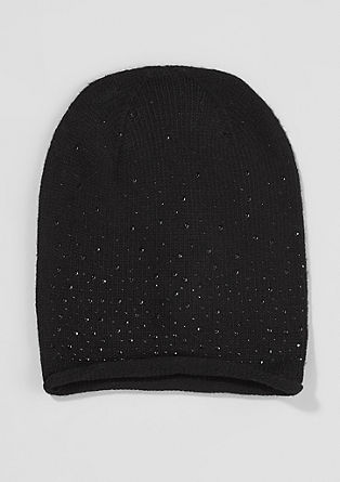 Knit hat with cashmere from s.Oliver
