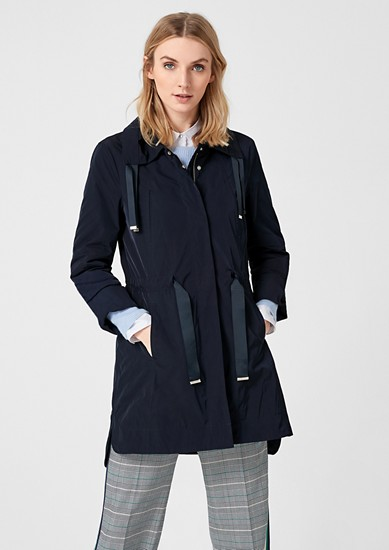 Nylon parka with wide collar from s.Oliver