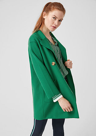 Oversized wool coat from s.Oliver