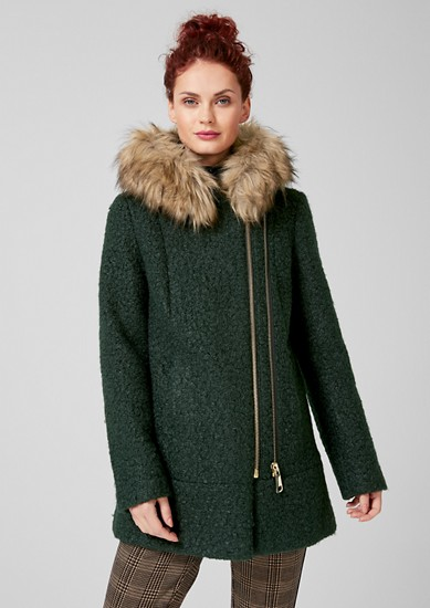 Winterjacke mit Fake-Fur