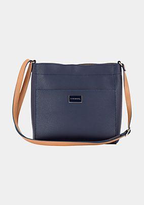 Sportliche Shoppingbag in Lederoptik