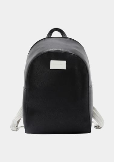 Smarter Rucksack aus weichem Lederimitat
