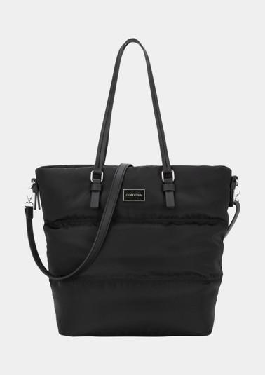 Nylon-Shoppingbag mit Steppungen