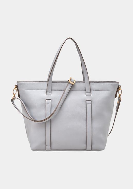 Elegante Shoppingbag mit abnehmbarem Trageriemen