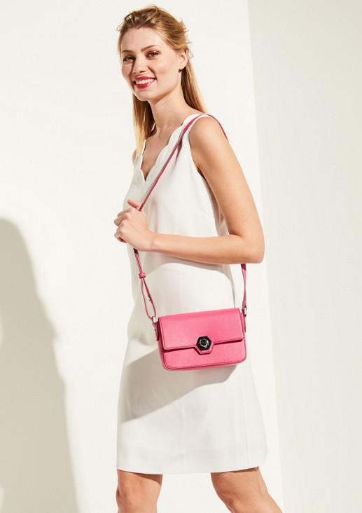 Handtasche aus weichem Kunstleder