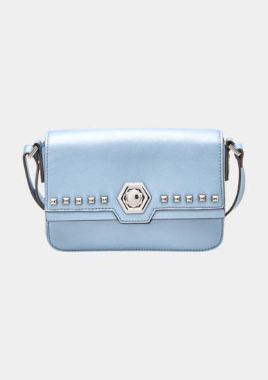 Handtasche mit Nietenverzierungen