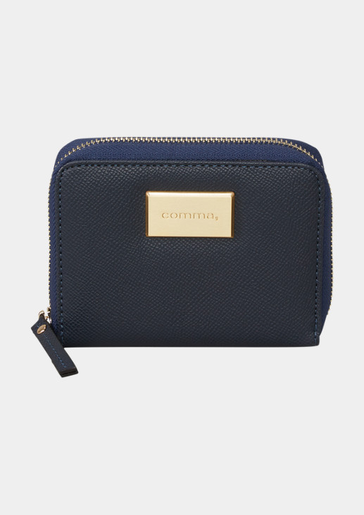 Portemonnaie mit Zipper-Schließe
