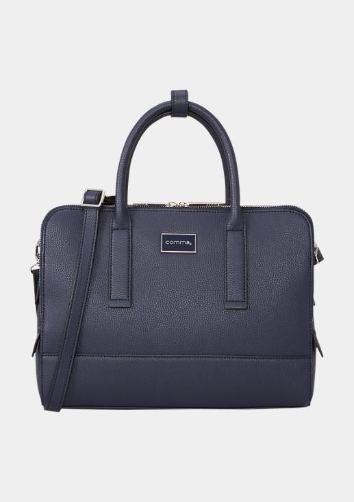 Handtasche mit Label-Plate
