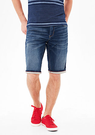 Tubx Straight: stretch bermudas from s.Oliver