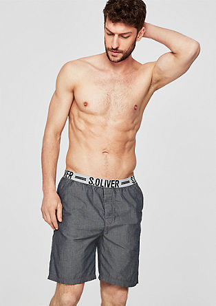 Lightweight chambray boxer shorts from s.Oliver
