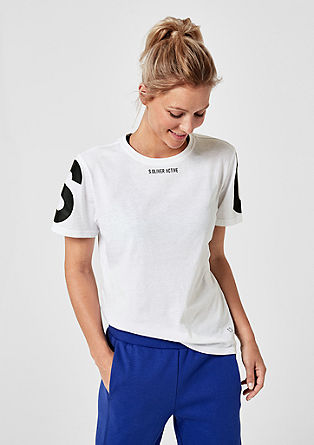 Core: T-shirt met logo