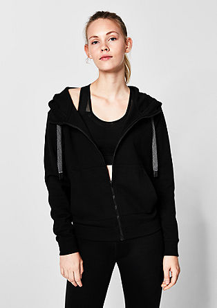 classic zip-up hoodie from s.Oliver