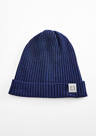 Soft ribbed beanie from s.Oliver