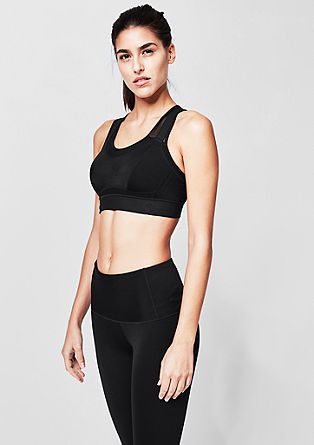 High impact: X-back sports bra from s.Oliver