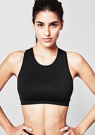 Light impact: seamless racer back bra from s.Oliver