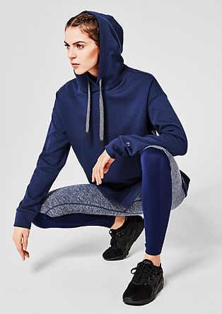 Casual, oversized hooded sweatshirt from s.Oliver