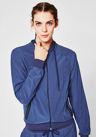 lahka raztegljiva jakna v slogu bluzona