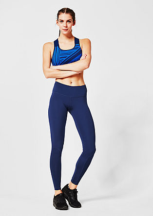 Long sports tights from s.Oliver