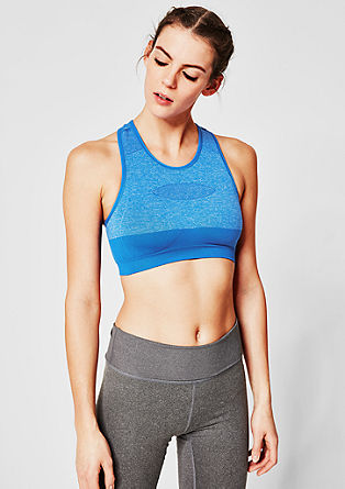 Seamless bra with a racer back from s.Oliver
