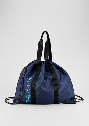 Lightweight denim gym bag from s.Oliver