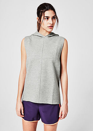 Tank top with a hood from s.Oliver