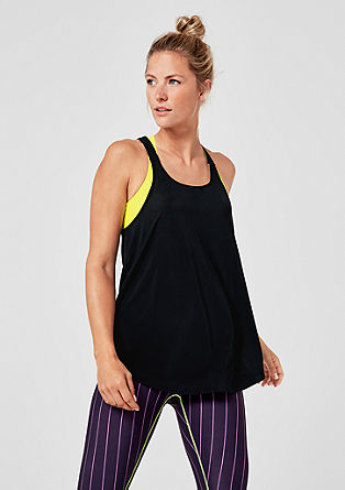 Lightweight easy racer back vest top from s.Oliver
