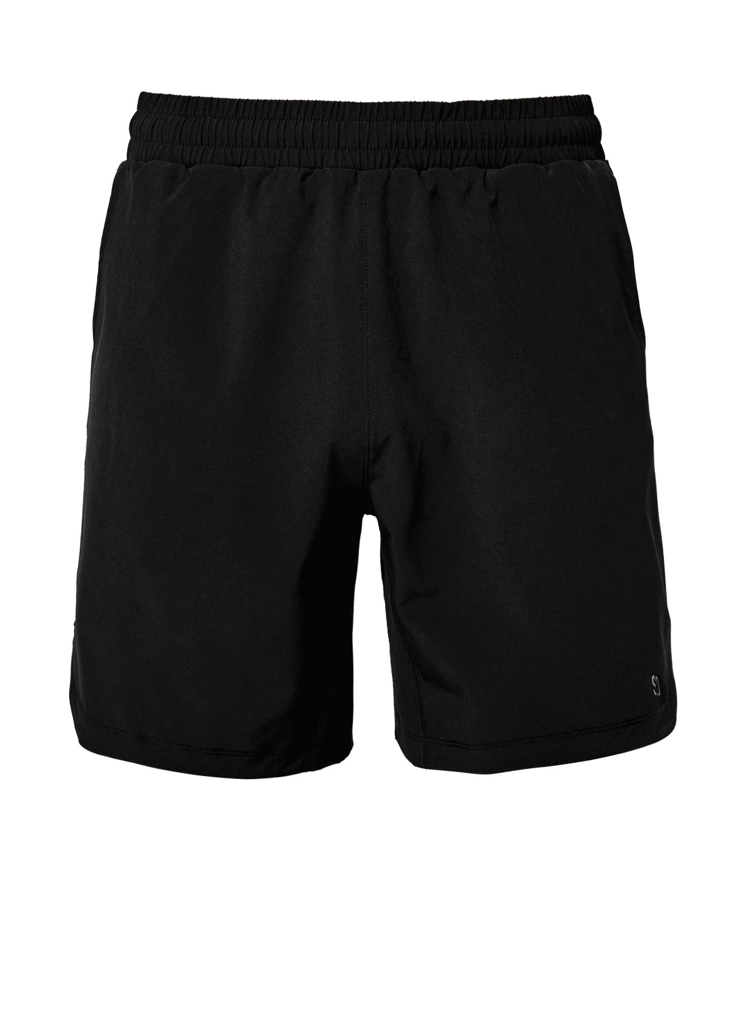 Trainingsshorts   Bekleidung > Shorts & Bermudas   Grau/schwarz   88% polyester -  12% elasthan   s.Oliver ACTIVE