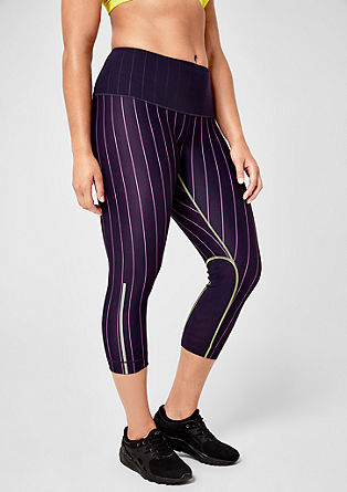 Sporty 3/4-length tights from s.Oliver