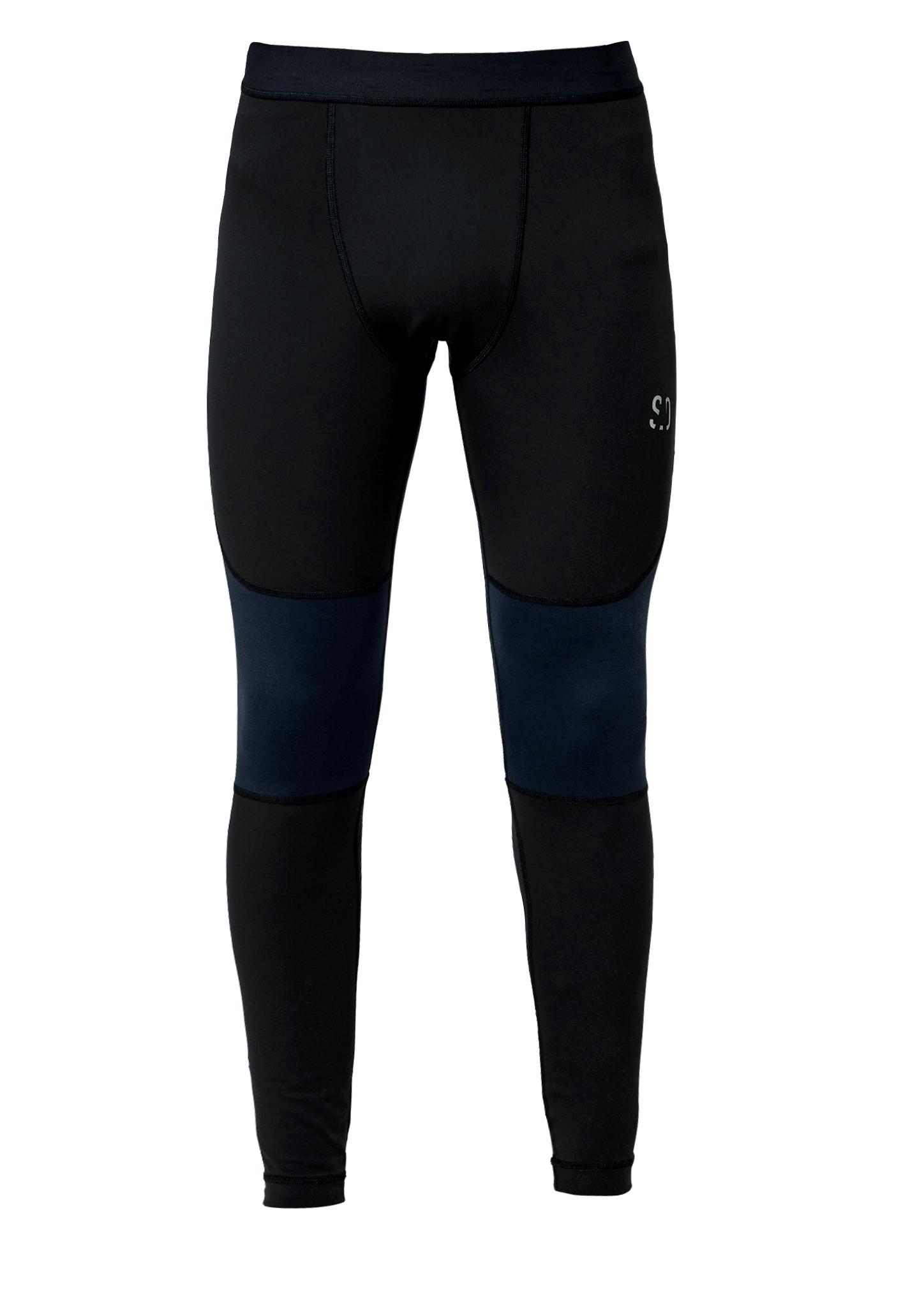 Trainings Tights | Sportbekleidung > Sporthosen | Grau/schwarz | Obermaterial: 78% polyamid -  22% elasthan| futter: 85% polyamid -  15% elasthan | s.Oliver ACTIVE