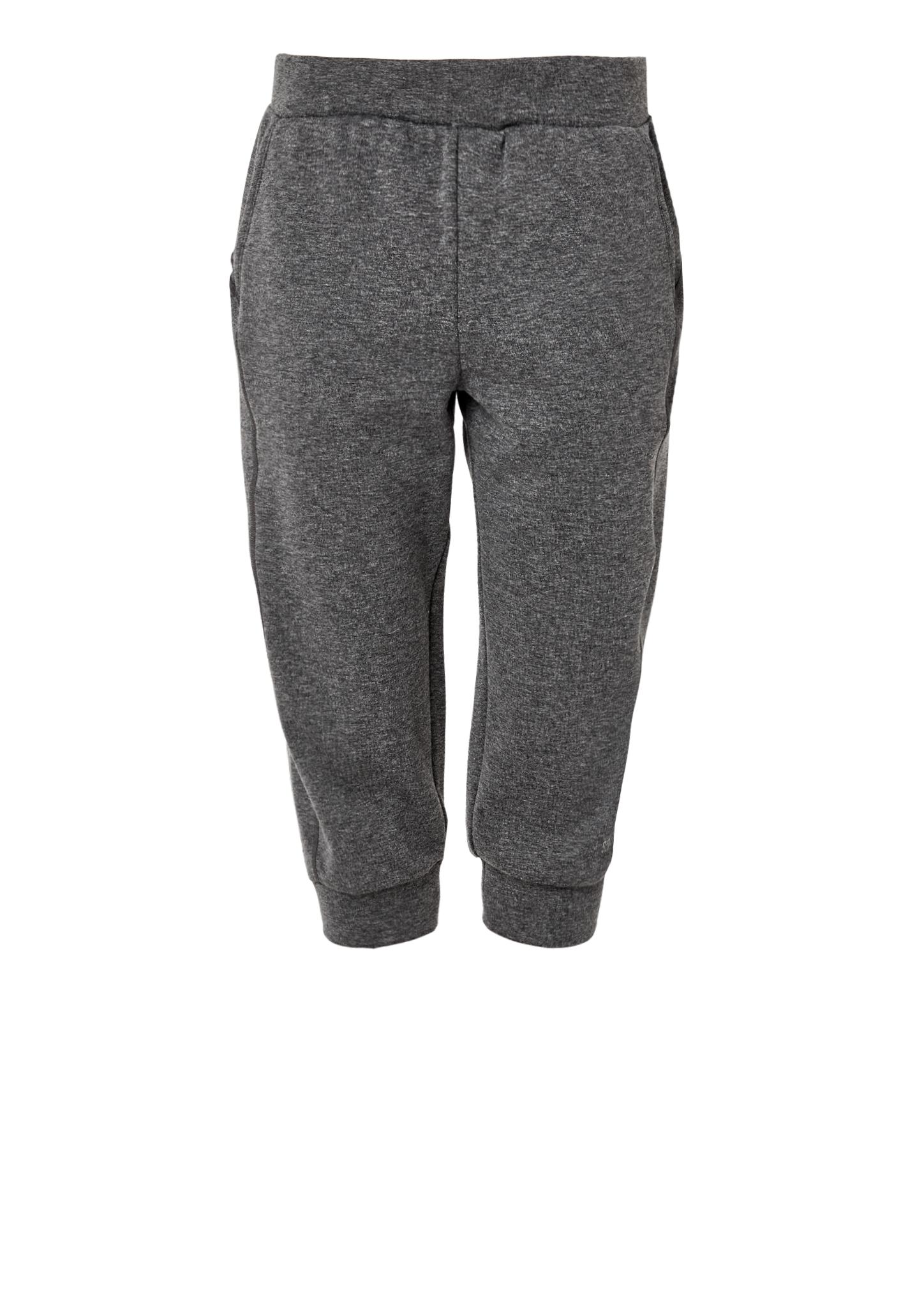 3/4-Sweat Pants | Bekleidung > Hosen > Sweathosen | Grau/schwarz | 56% polyester -  44% baumwolle | s.Oliver ACTIVE