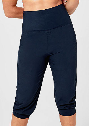 3/4-length microfibre sports trousers from s.Oliver